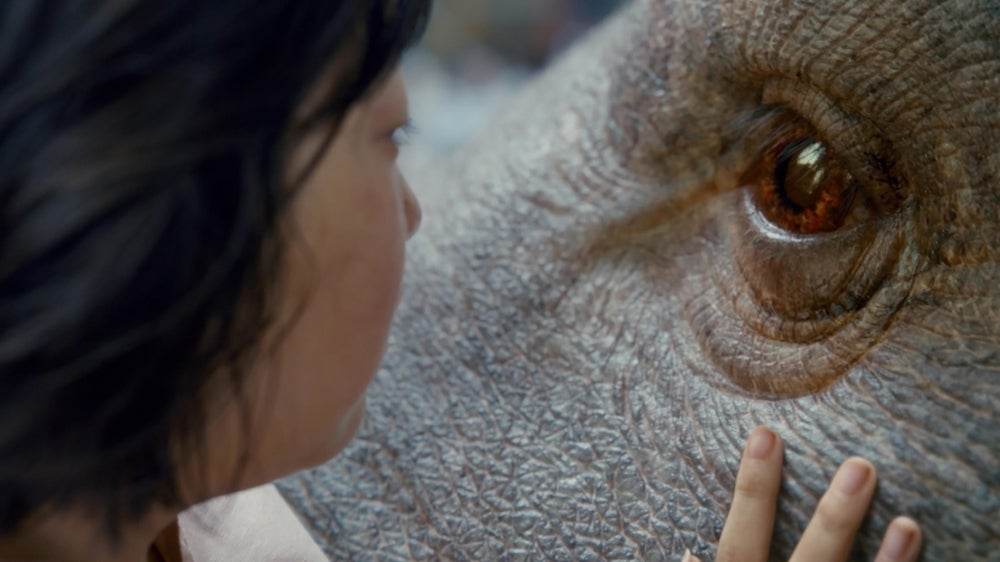 A scene from the film Okja