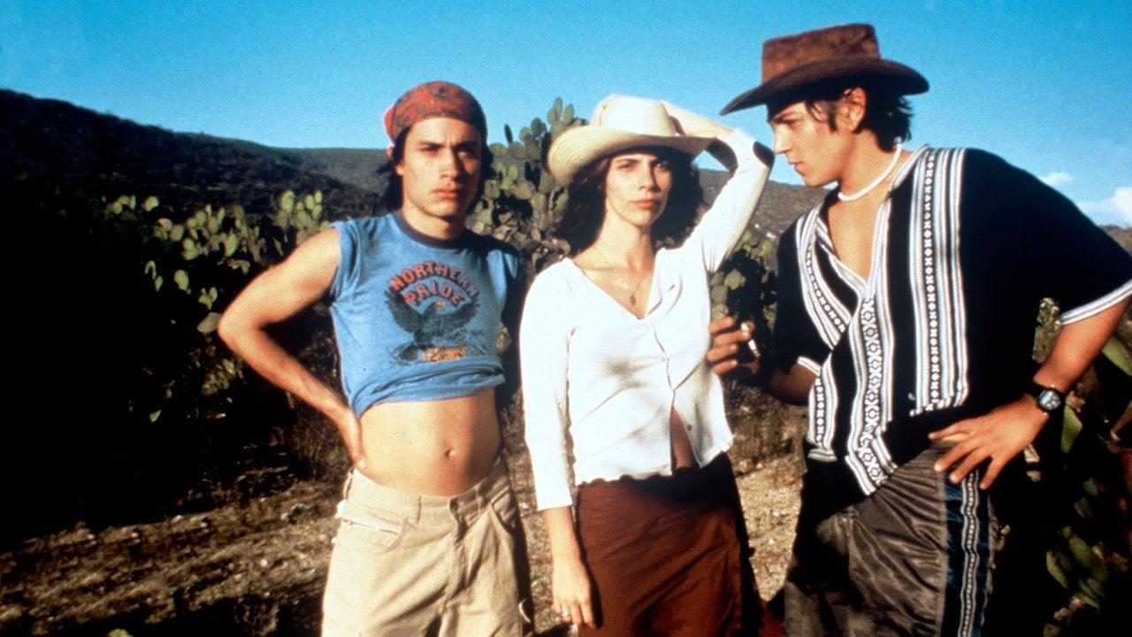 """A scene from """"Y Tu Mamá También"""", 2001"""