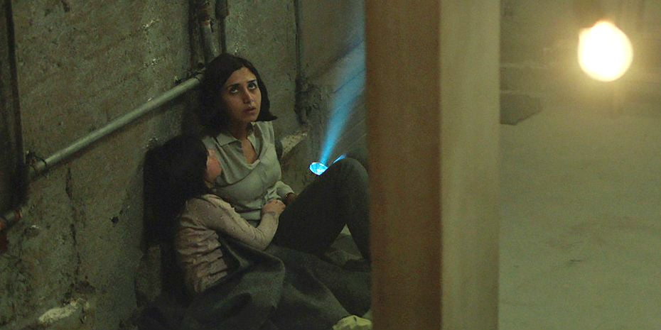 "A scene from ""Under The Shadow"", UK/Irannetflix"