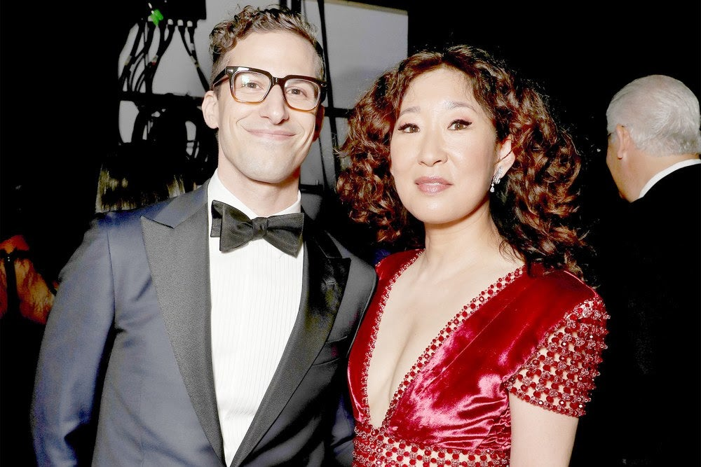 Sandra Oh and Adam Samberg