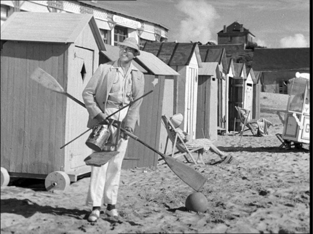 "A scene from ""Monsieur Hulot Holiday', 1953"