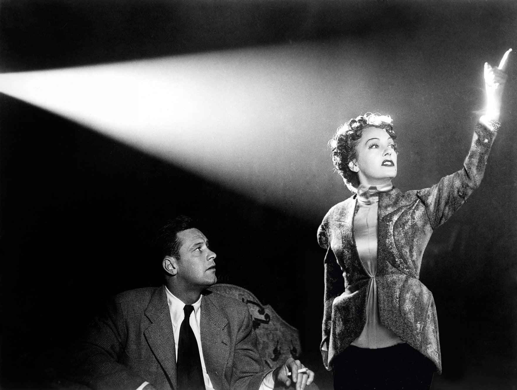 "A scene from ""Sunset Blvd."", 1950"