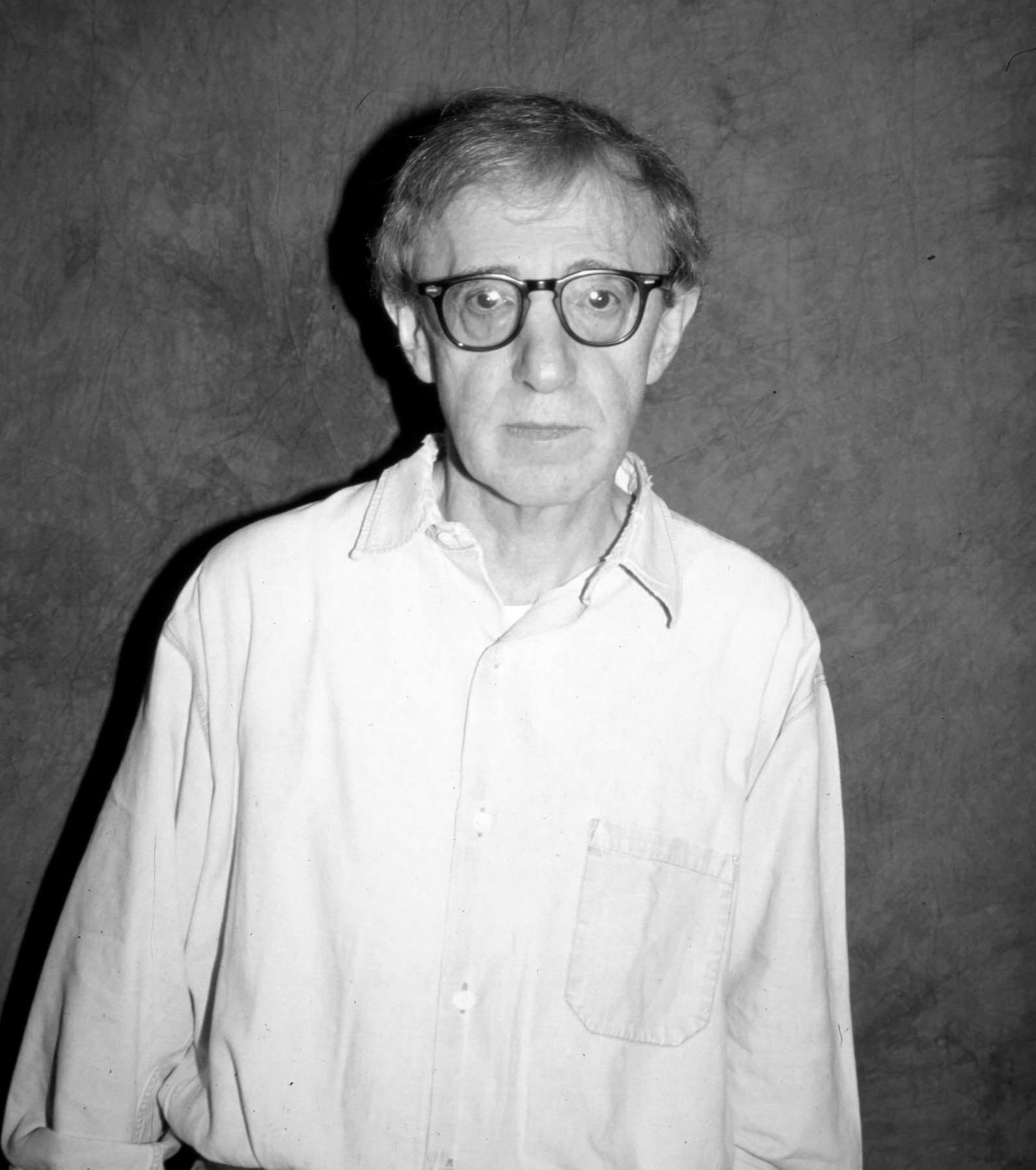 Filmmaker Woody Allen, Golden Globe winner and Cecil B. deMille recipient