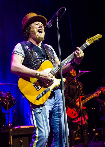 Italian rockstar Zucchero performing in Los Angeles, mMrch 2017