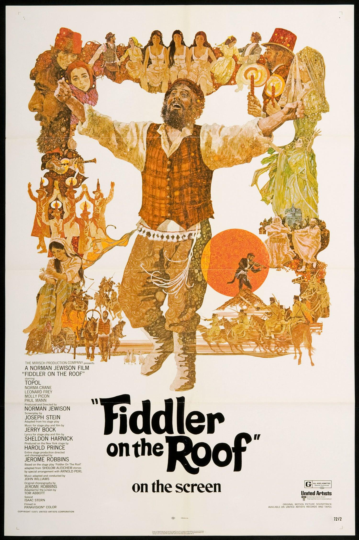 Fiddler On The Roof Golden Globes