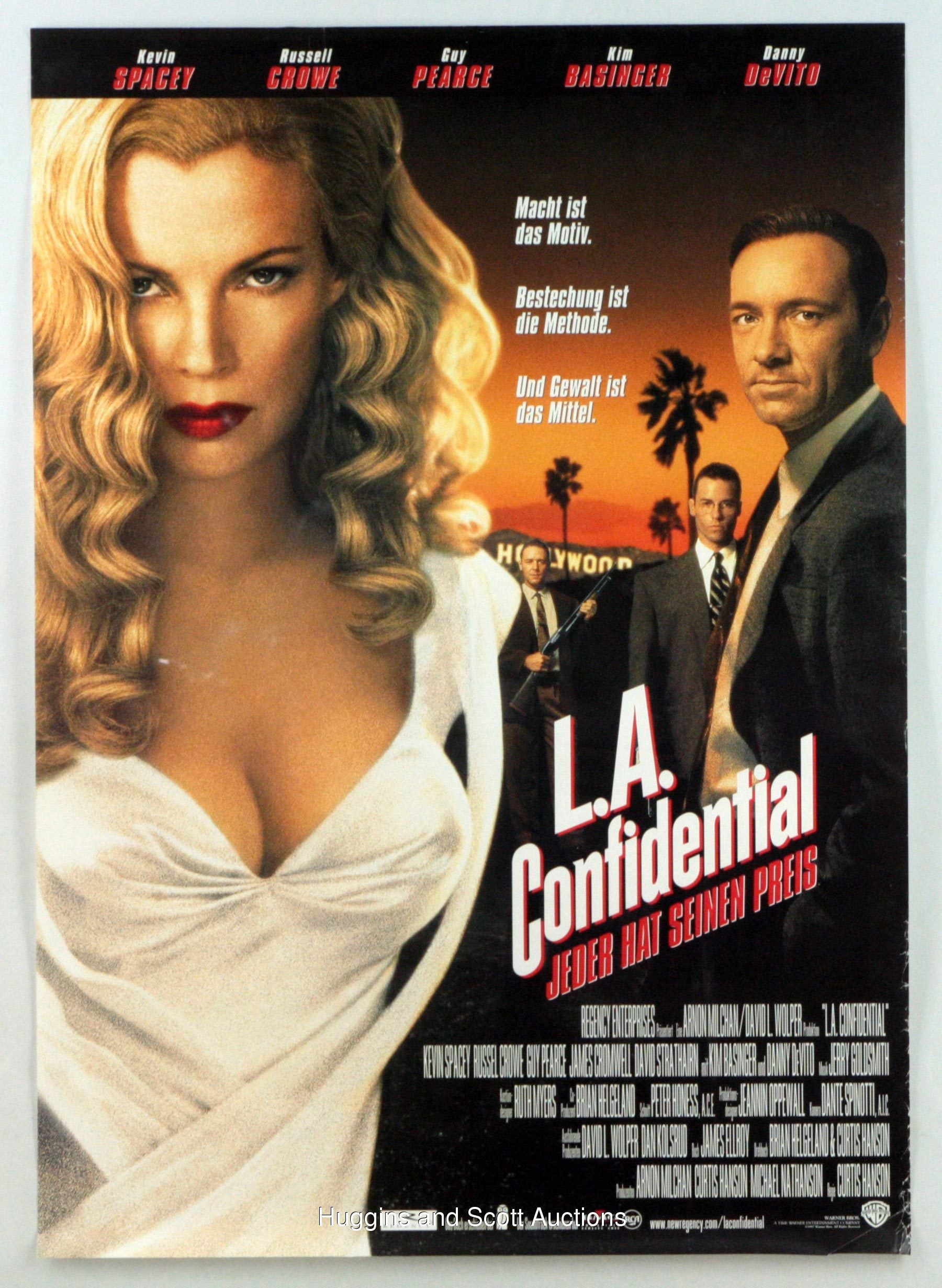 la confidential La confidential ed exley, bud white and jack vincennes are three police officers with different personalities and different perspectives about justice they are dragged into a tangled and sticky web of violence and betrayal arising from a multiple murder which is supposed to be part of a scheme of a crime lord to consolidate his hold on organized crime in la.