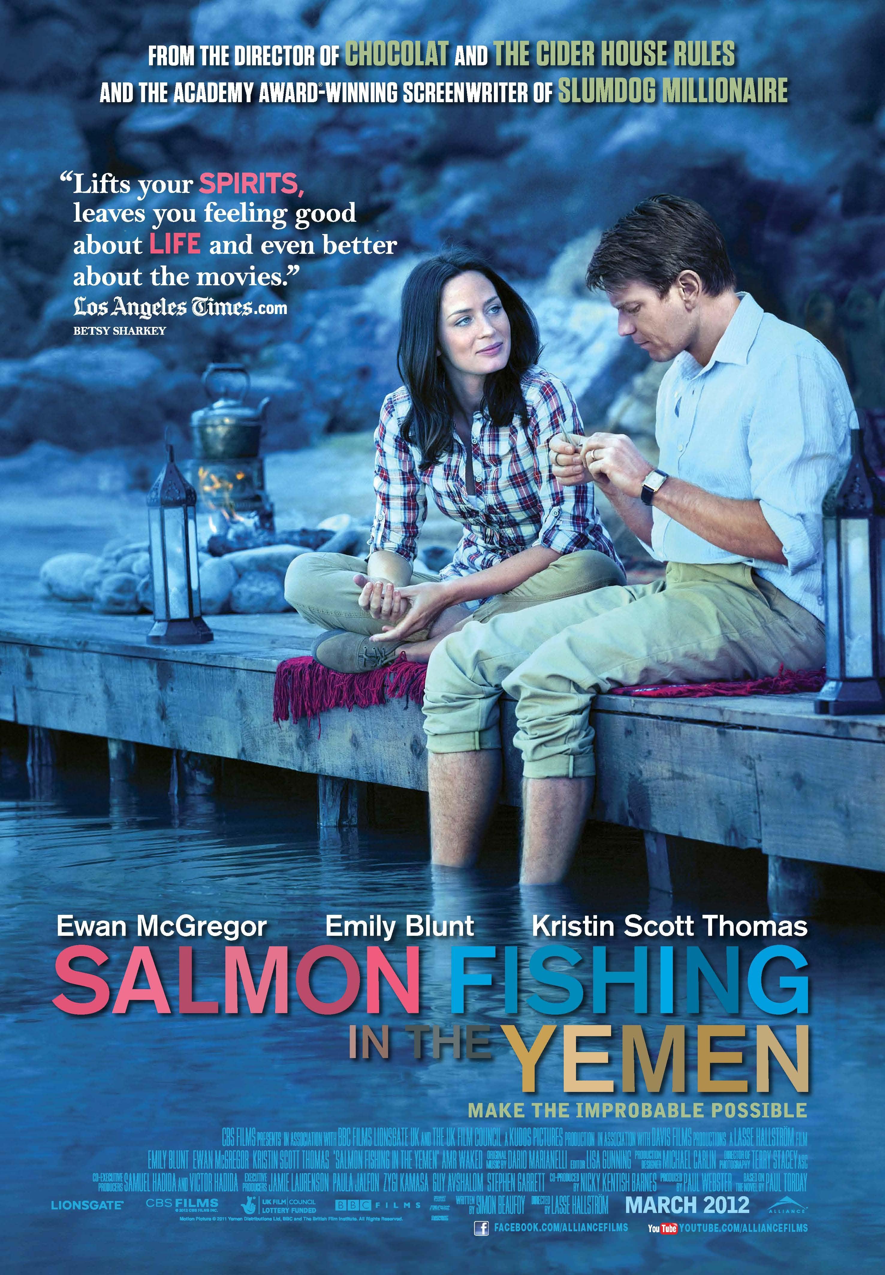 Salmon fishing in the yemen golden globes for Salmon fishing in the yemen