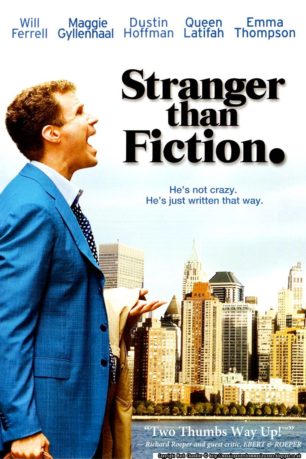Stranger Than Fiction | Golden Globes