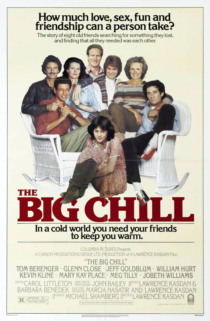Big Chill The Golden Globes