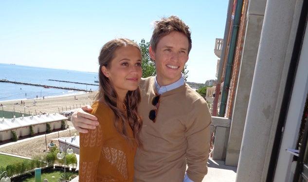 Alica Vikander and Edd...