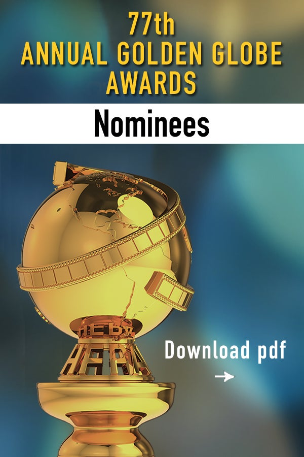 77th Awards Nominees