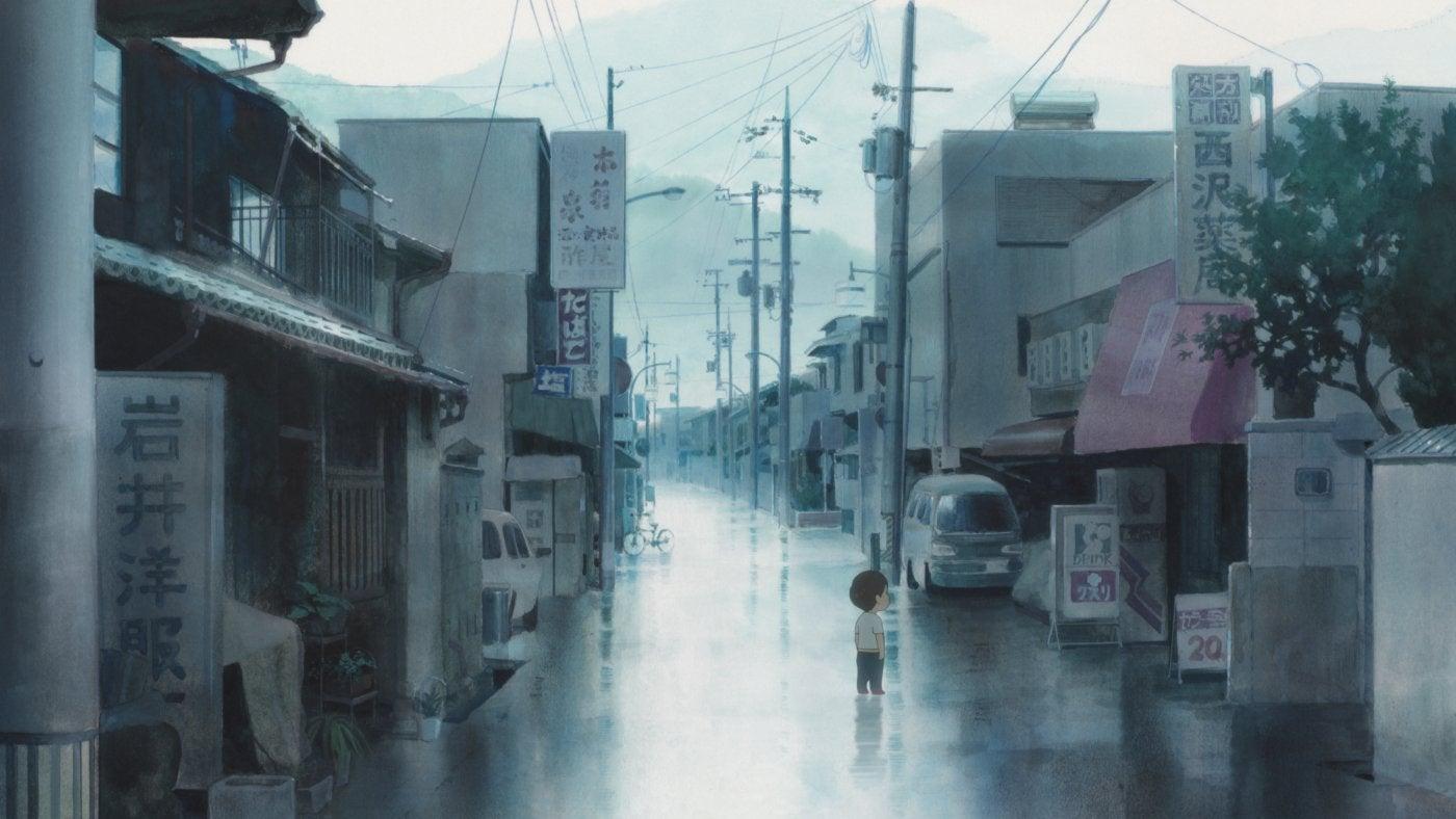 "A scene from ""MIrai"""