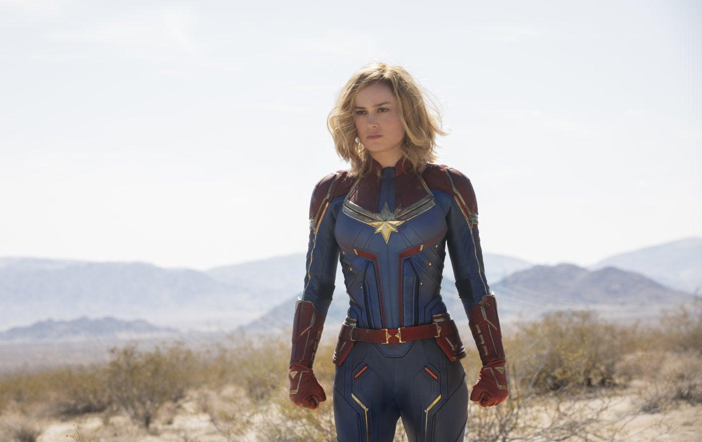 "A scene from ""Captain Marvel"", 2019"