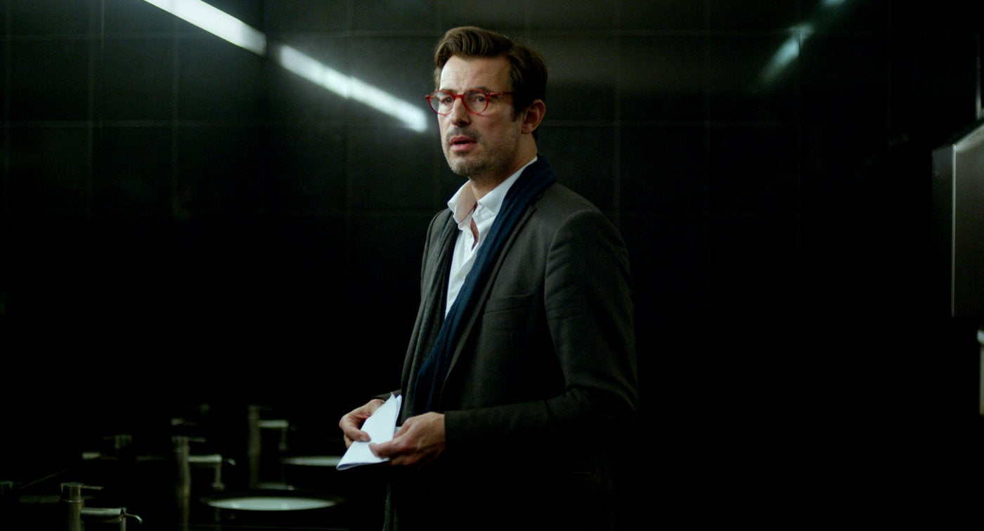 "Danish actor Claes Bang in a scene from ""The Square"""