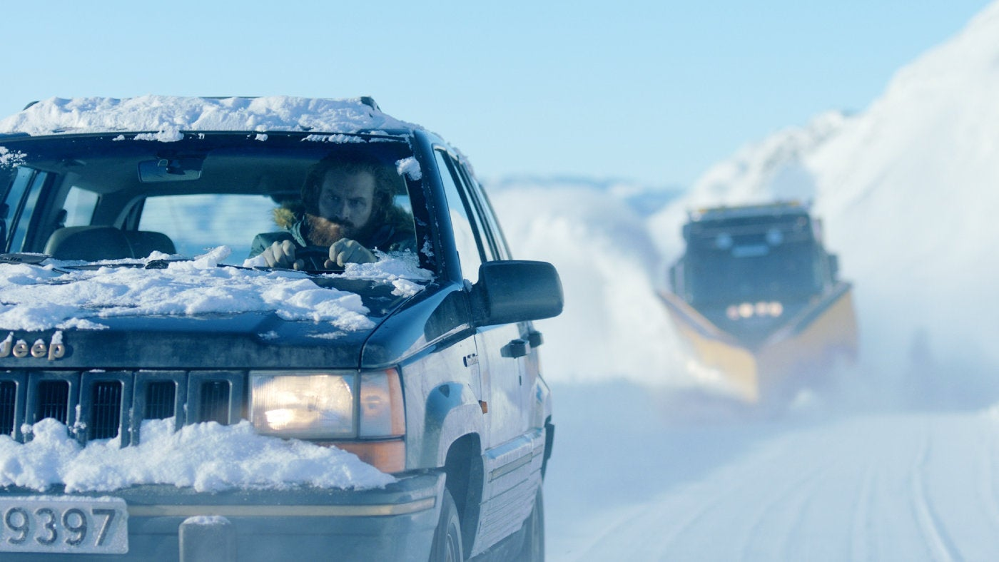 "A scene from the Norwegian film ""In Order of Disappearance\"""