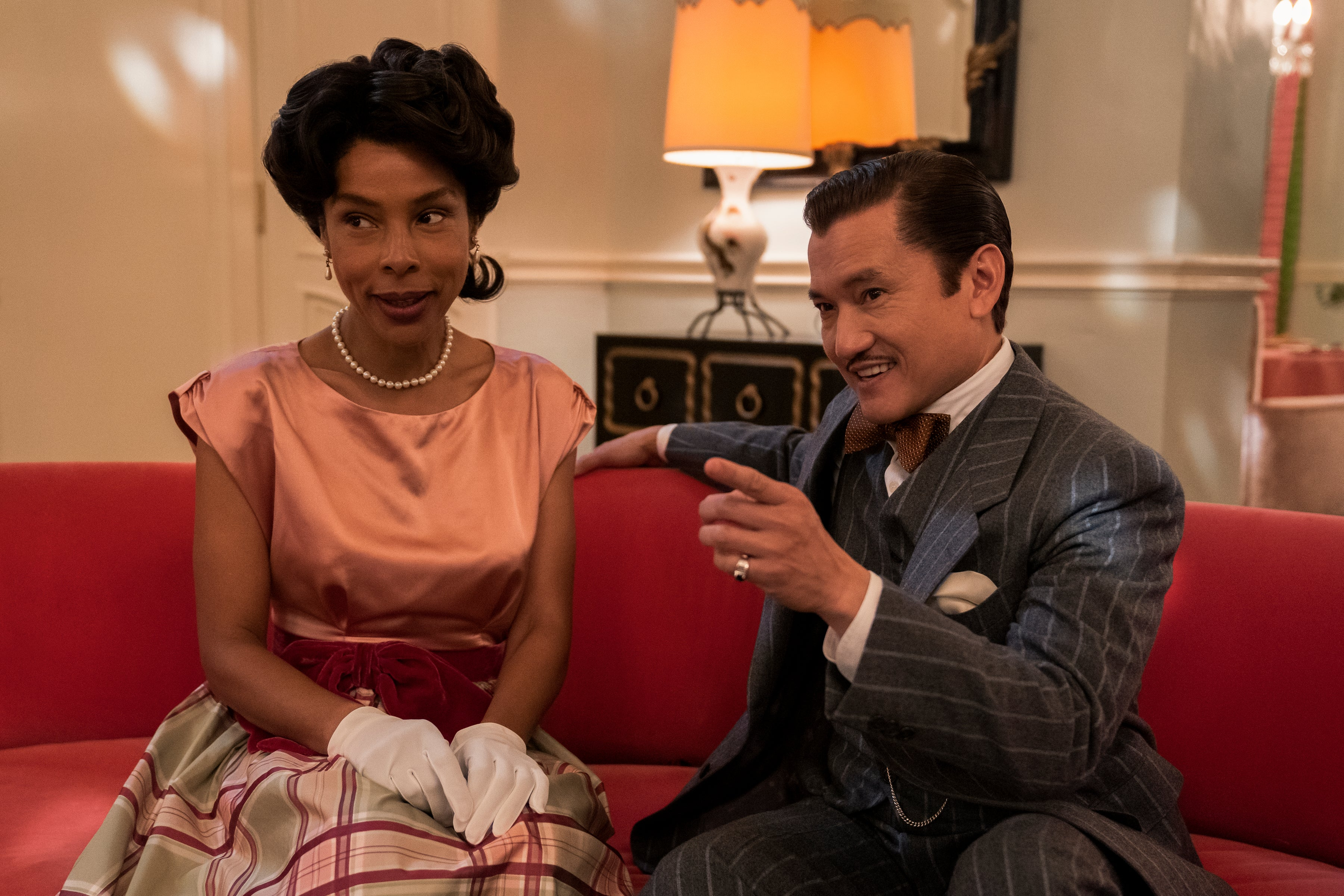 Creating style that captures character – Sophie Okonedo and Jon Jon Briones