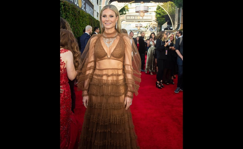 Gwyneth Paltrow on the Red Carpet, Golden Globes 2020