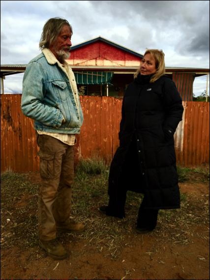 Mimi Leder with Scott Glenn