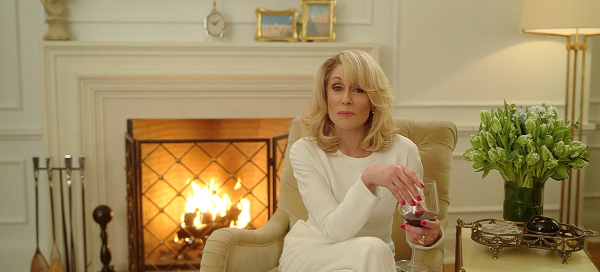 Judith Light plays Dede Standish, an ambitious, veteran City Council member. This is a two-piece crepe Proenza Schouler pant suit.