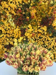 Flower arragement of the 76th Golden Globes