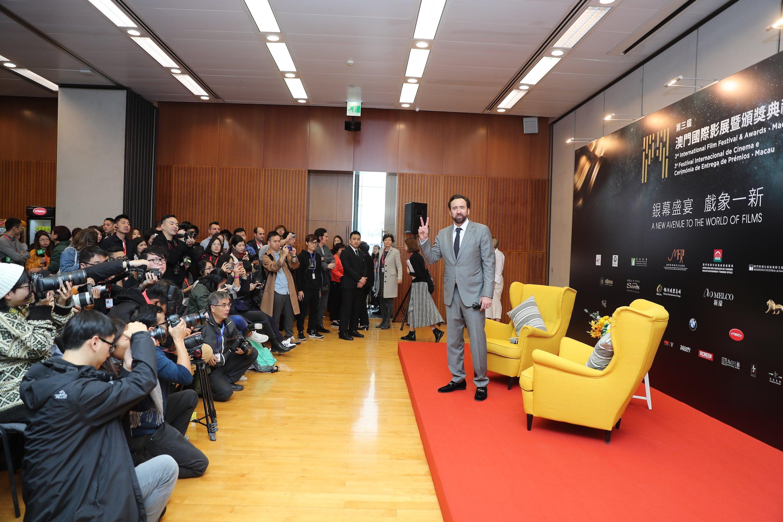 Nicolas Cage at the Macao Film Festival 2018