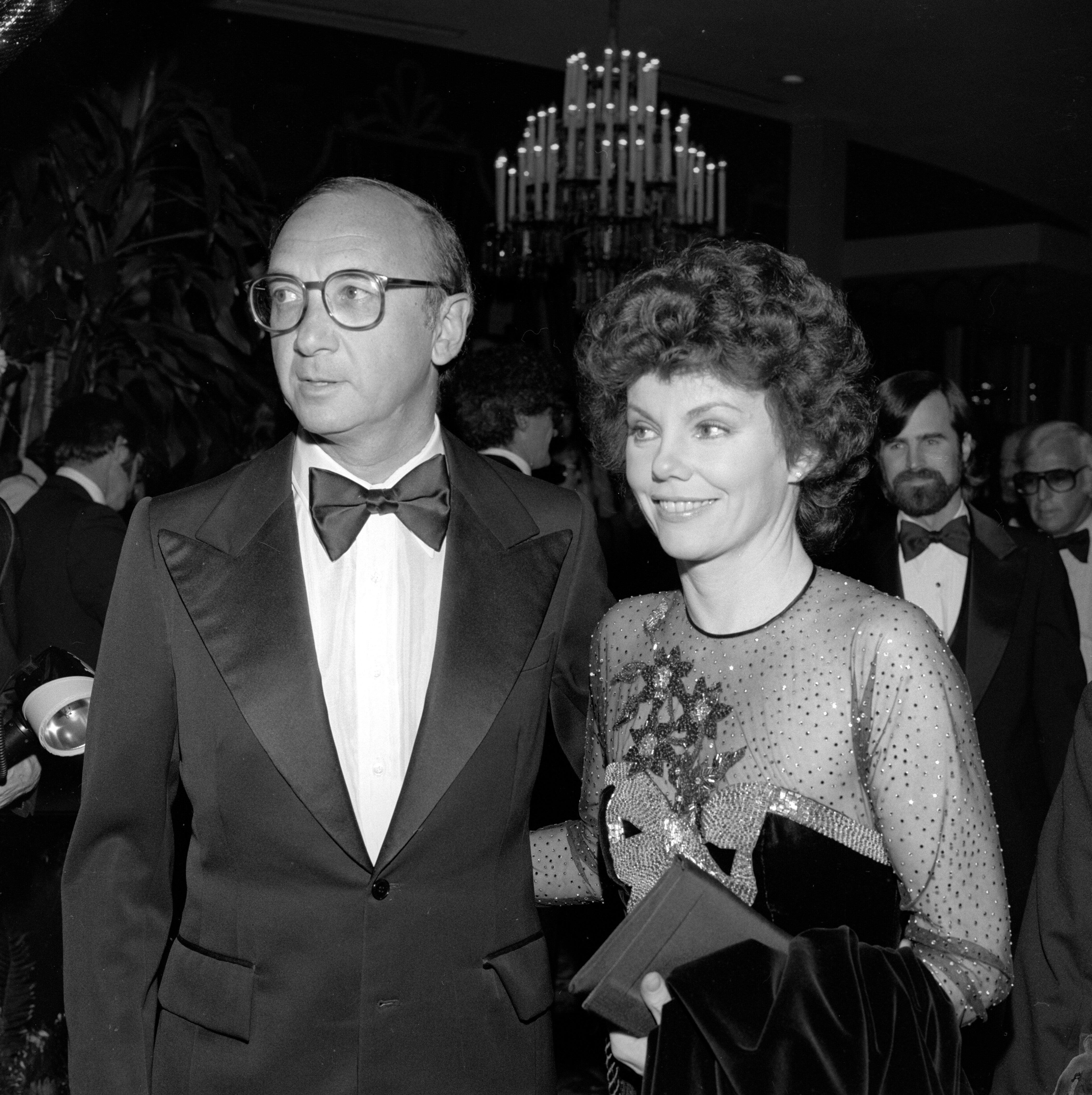 Neil Simons and Marsha Mason