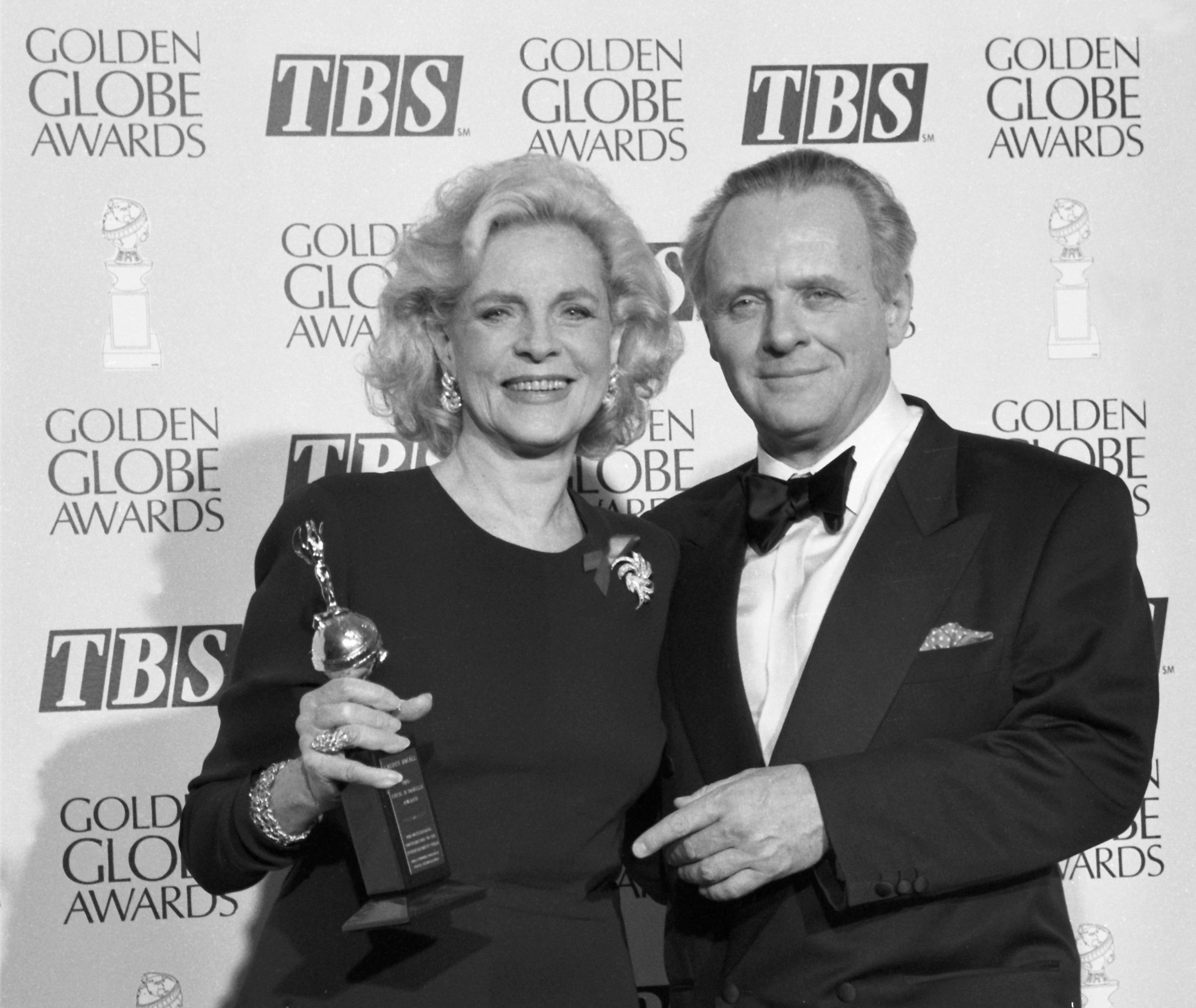 Lauren Bacall and Anthony Hopkins