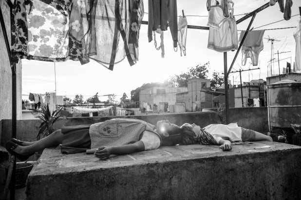 """A scene from """"Roma"""""""