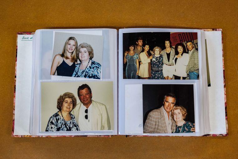 HFPA member Maria SLagler's scrapbook