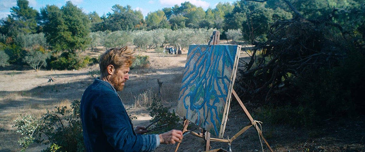 "Willem Dafoe as Vincent van Gogh in ""At Eternity's Gate"" (2018)"