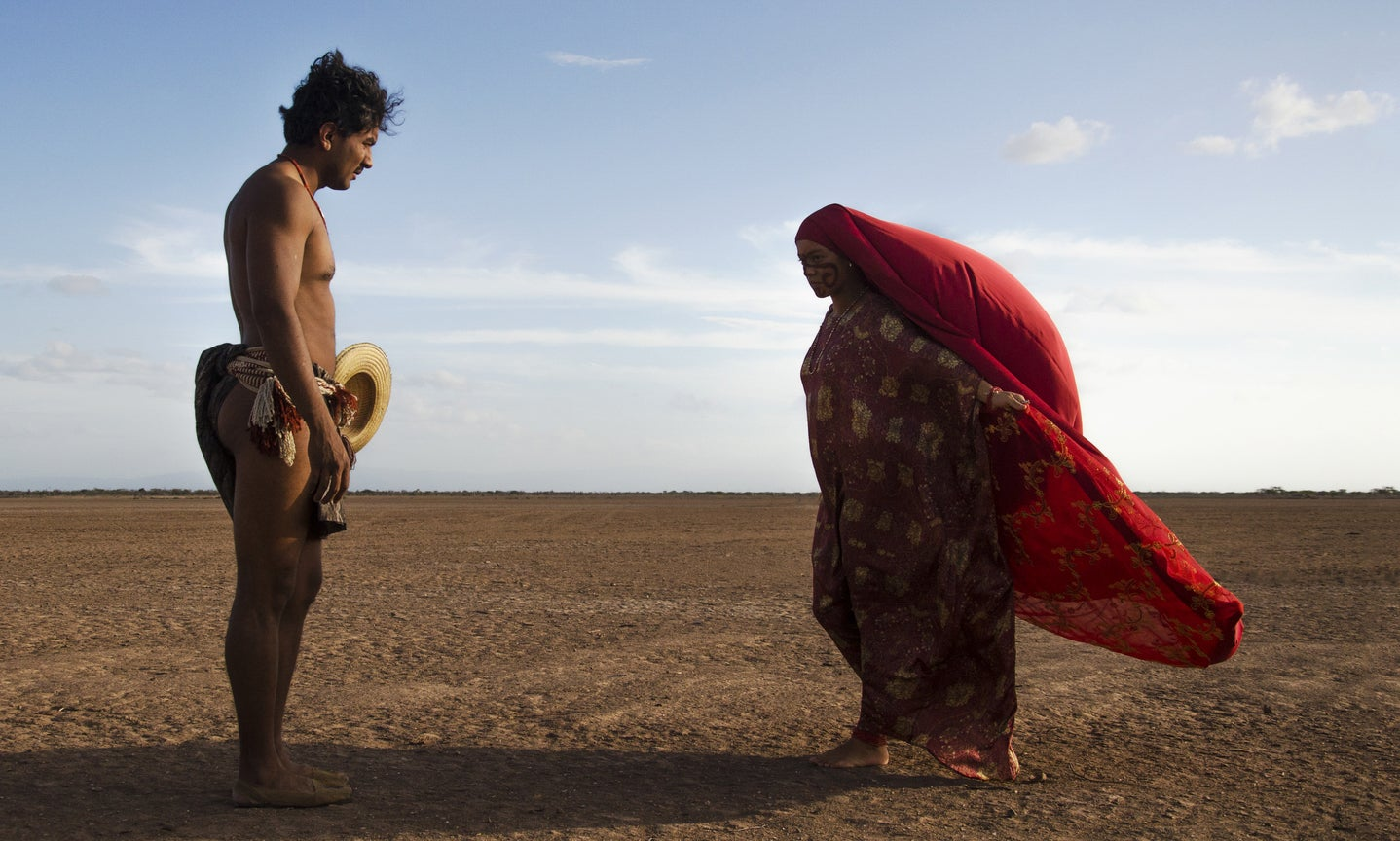 "A scene from ""Birds of Passage"""