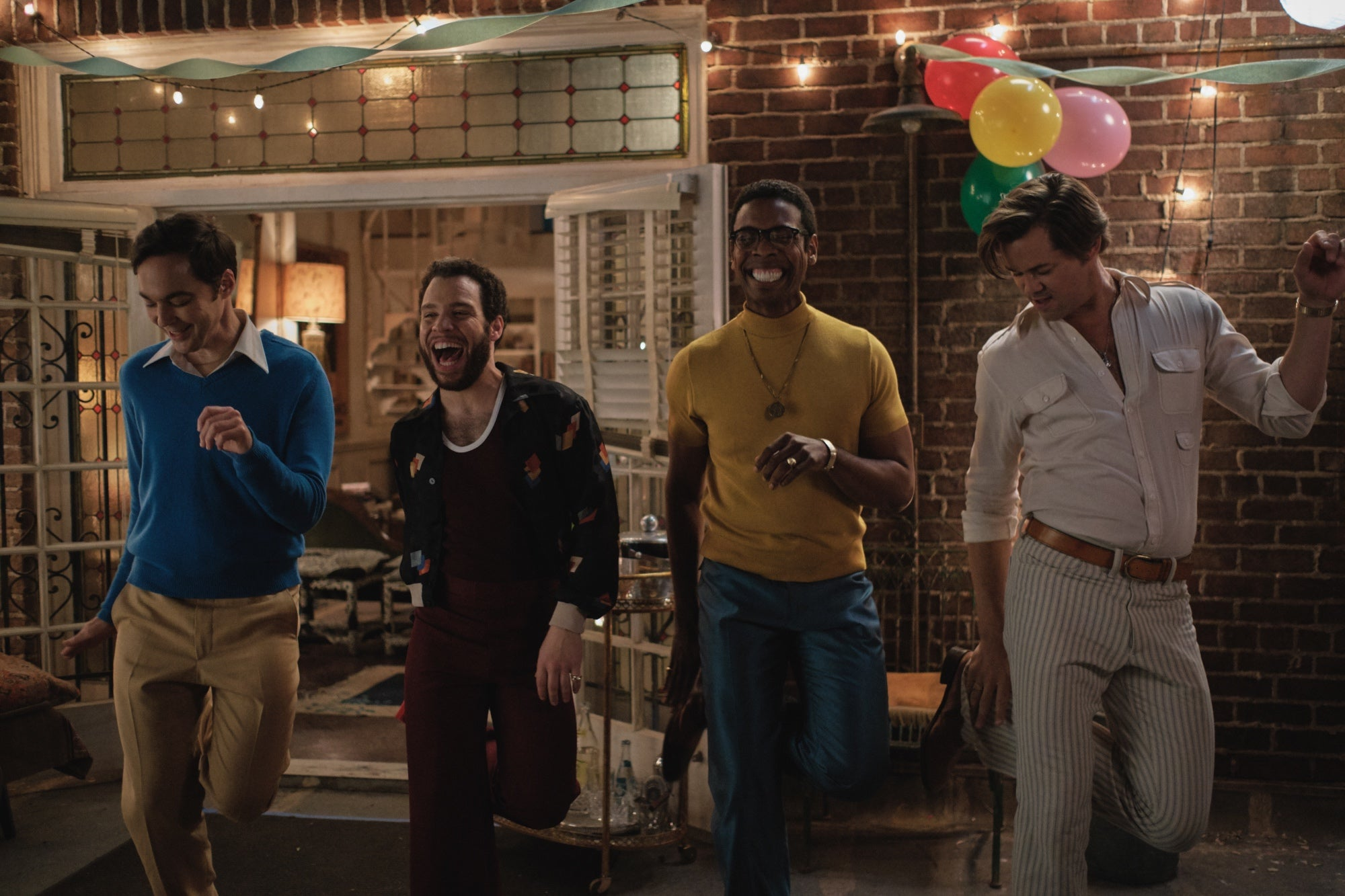 A scene from Boys in the Band, Netflix, 2020