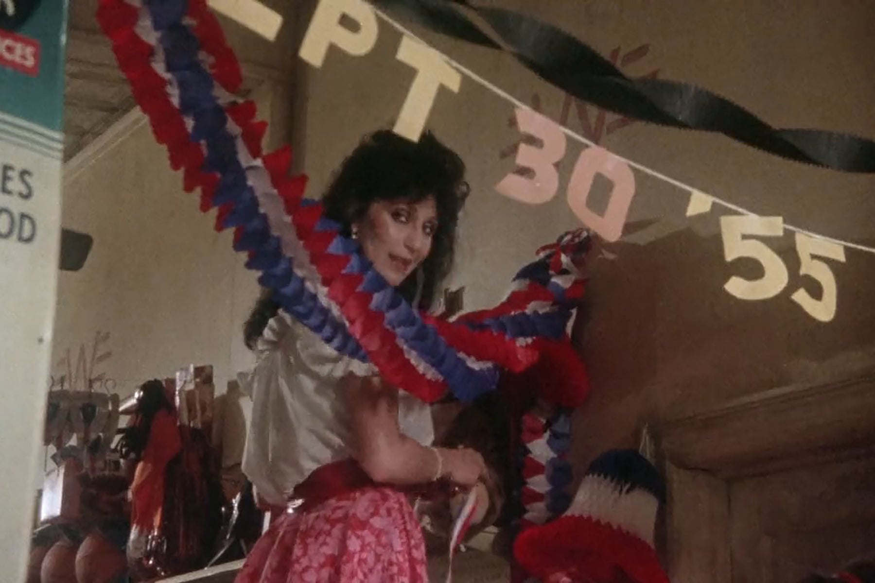 "Cher in ""Come Back to the 5 & Dime Jimmy Dean, Jimmy Dean"" (1982)"