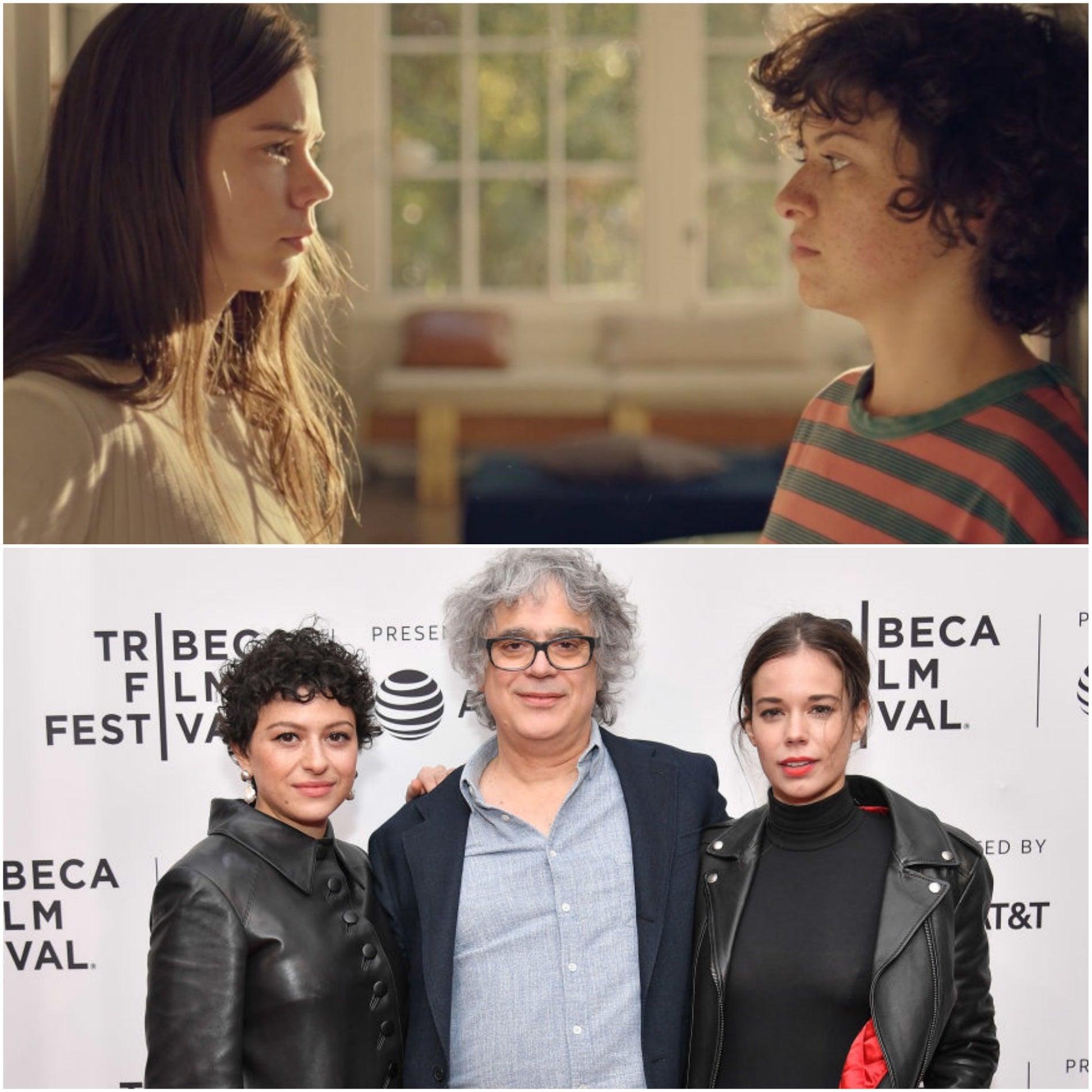 Filmmaker Miguel Arteta, actresses Laia Costa and Alia Shawkat