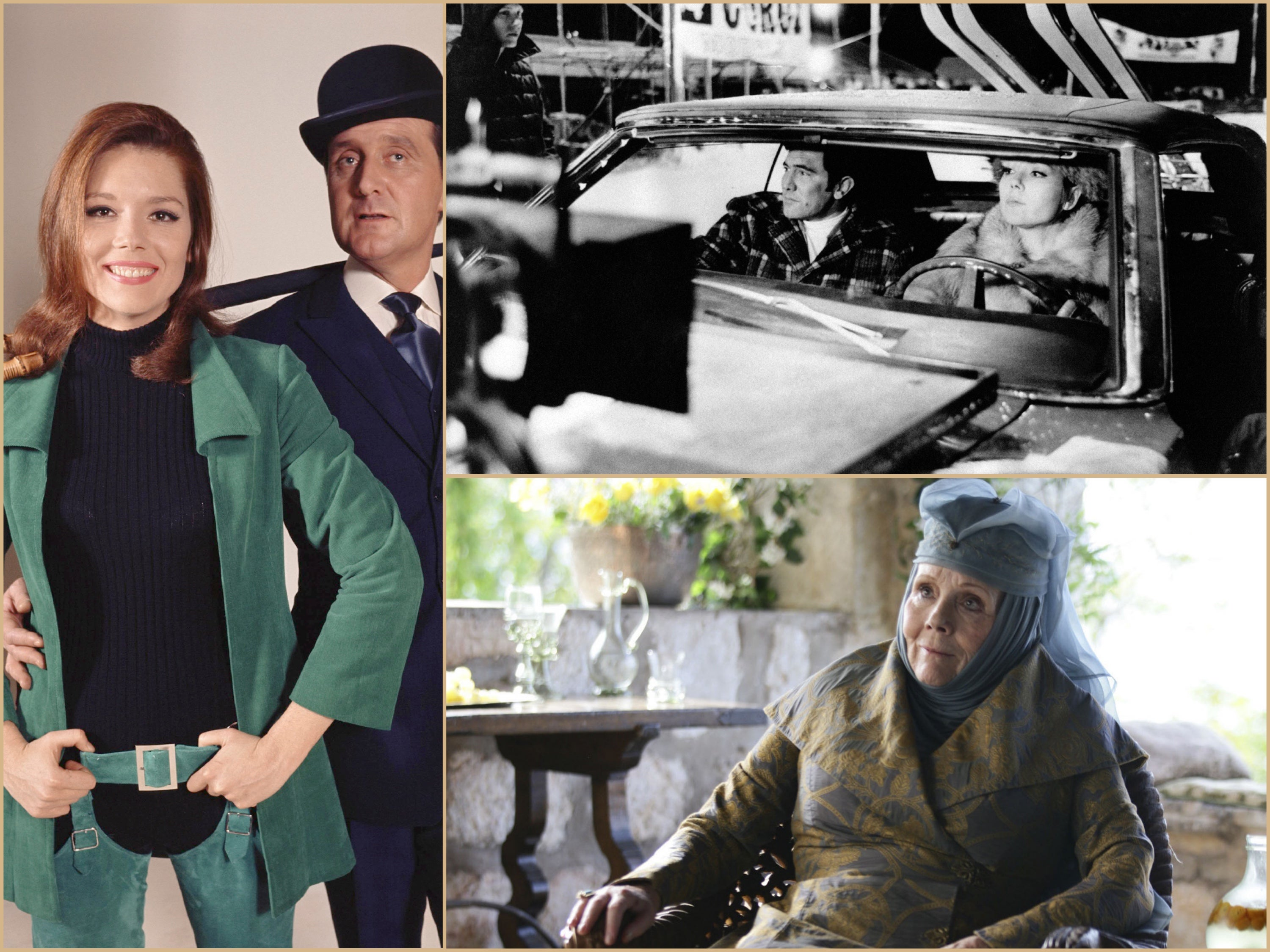 Moments in the life of Diana Rigg