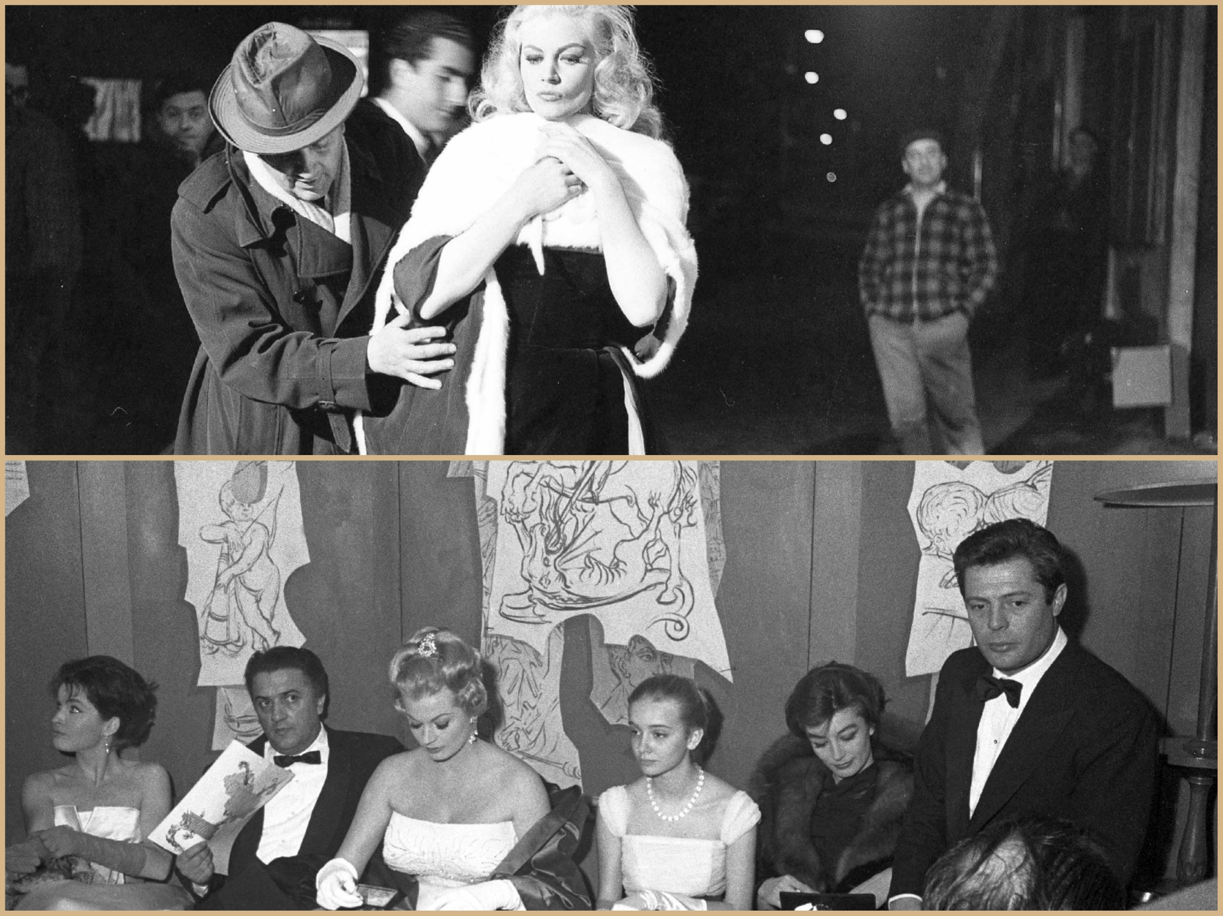 Moments in the life of Federico Fellini