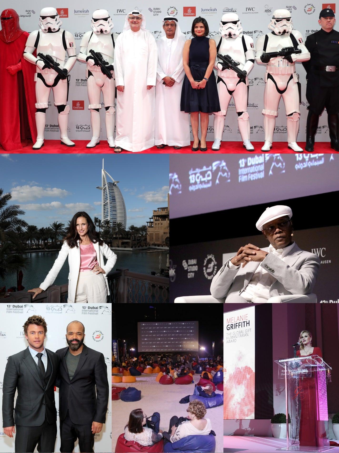 Scenes from the 2016 Dubai Film Festival