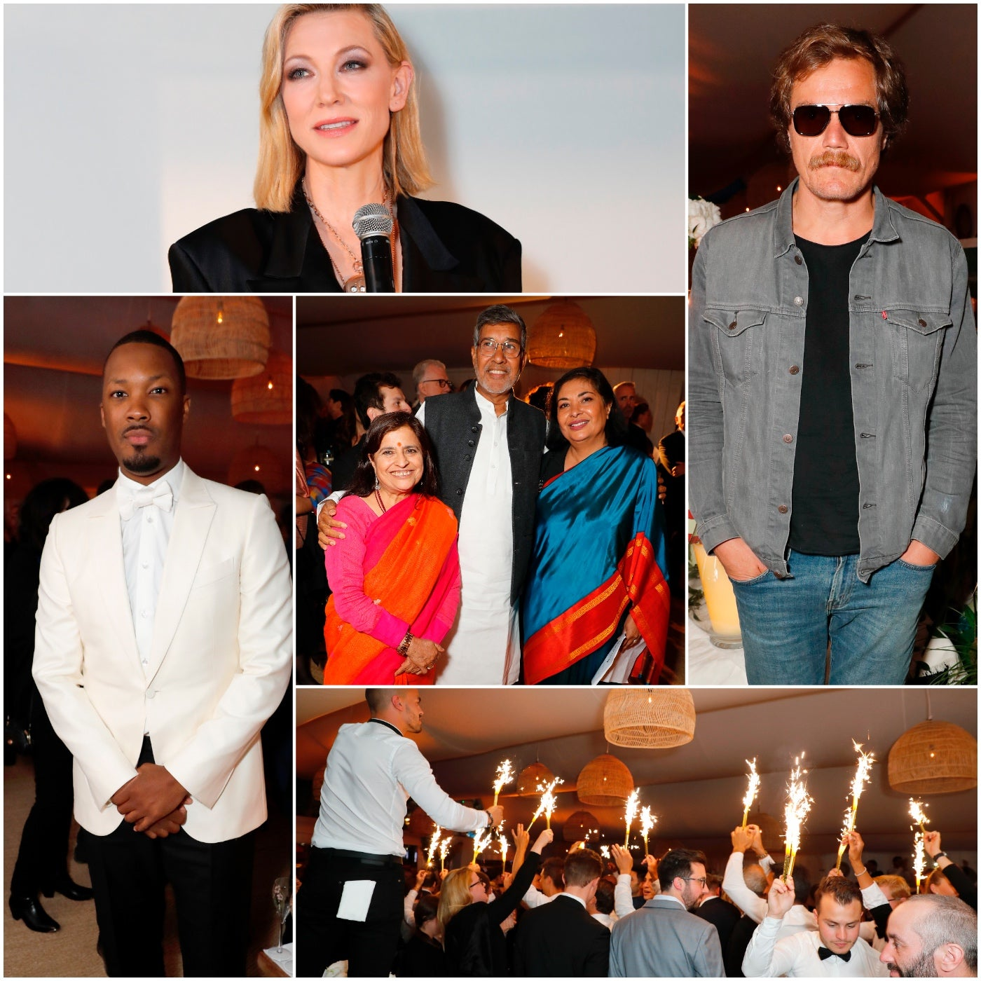 Scenes from the hFPAS event at Cannes 2018