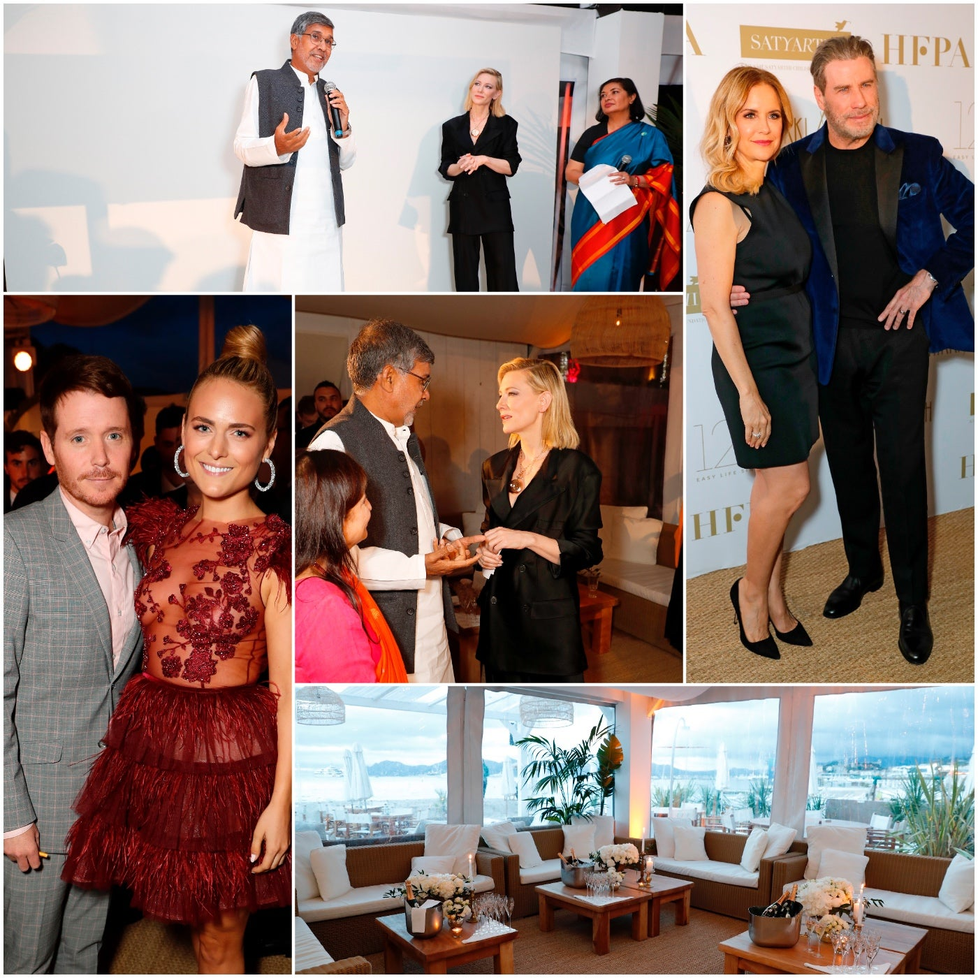 Scenes from the HFPA event at Cannes 2018