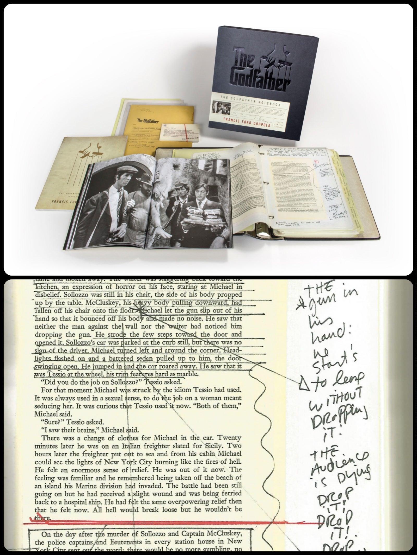 "Inside \""The Godfather Notebook\"""