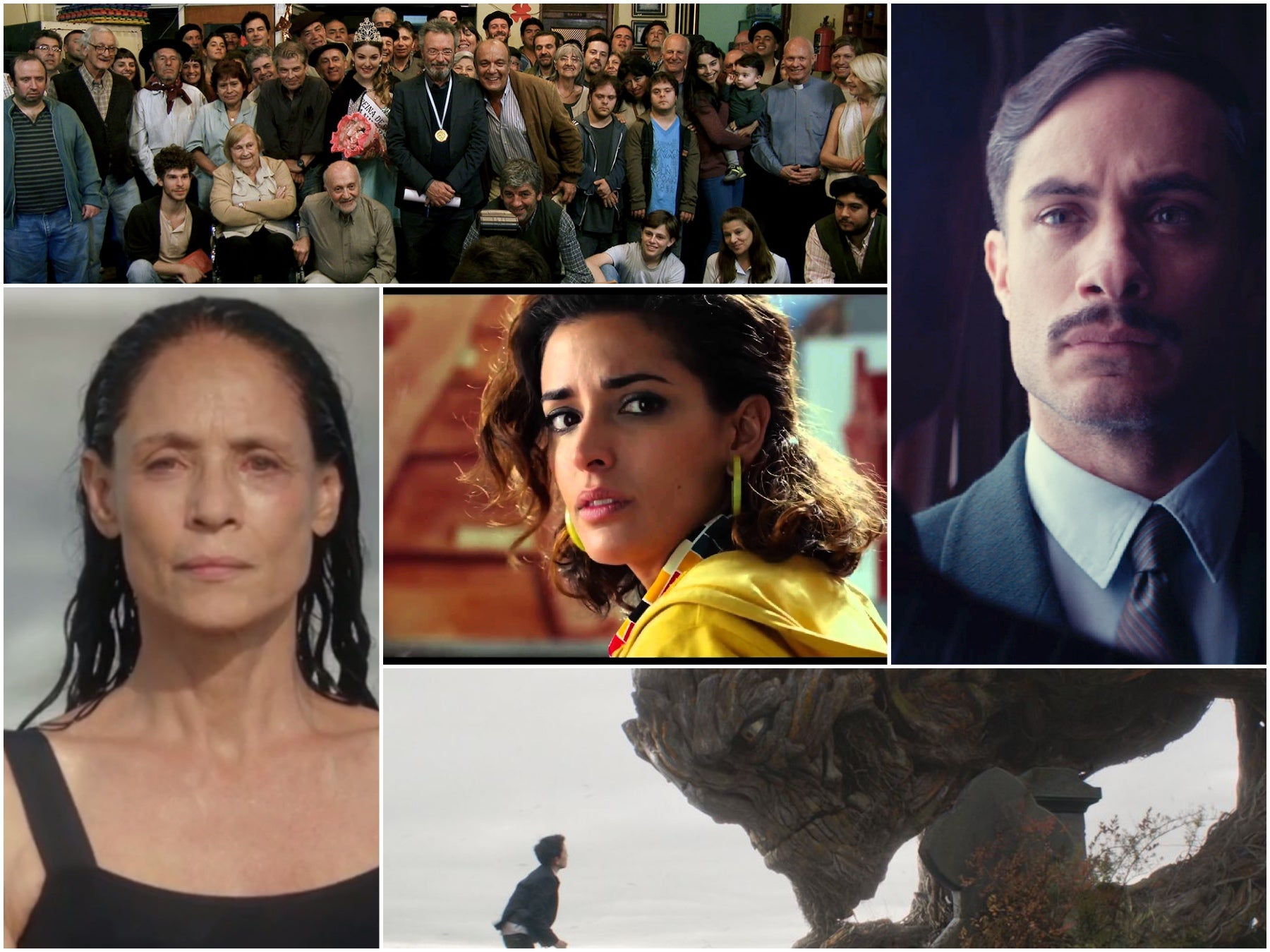 Scenes from A Monster Calls, Aquarius, Julieta, Neruda, El ciudadano ilustre