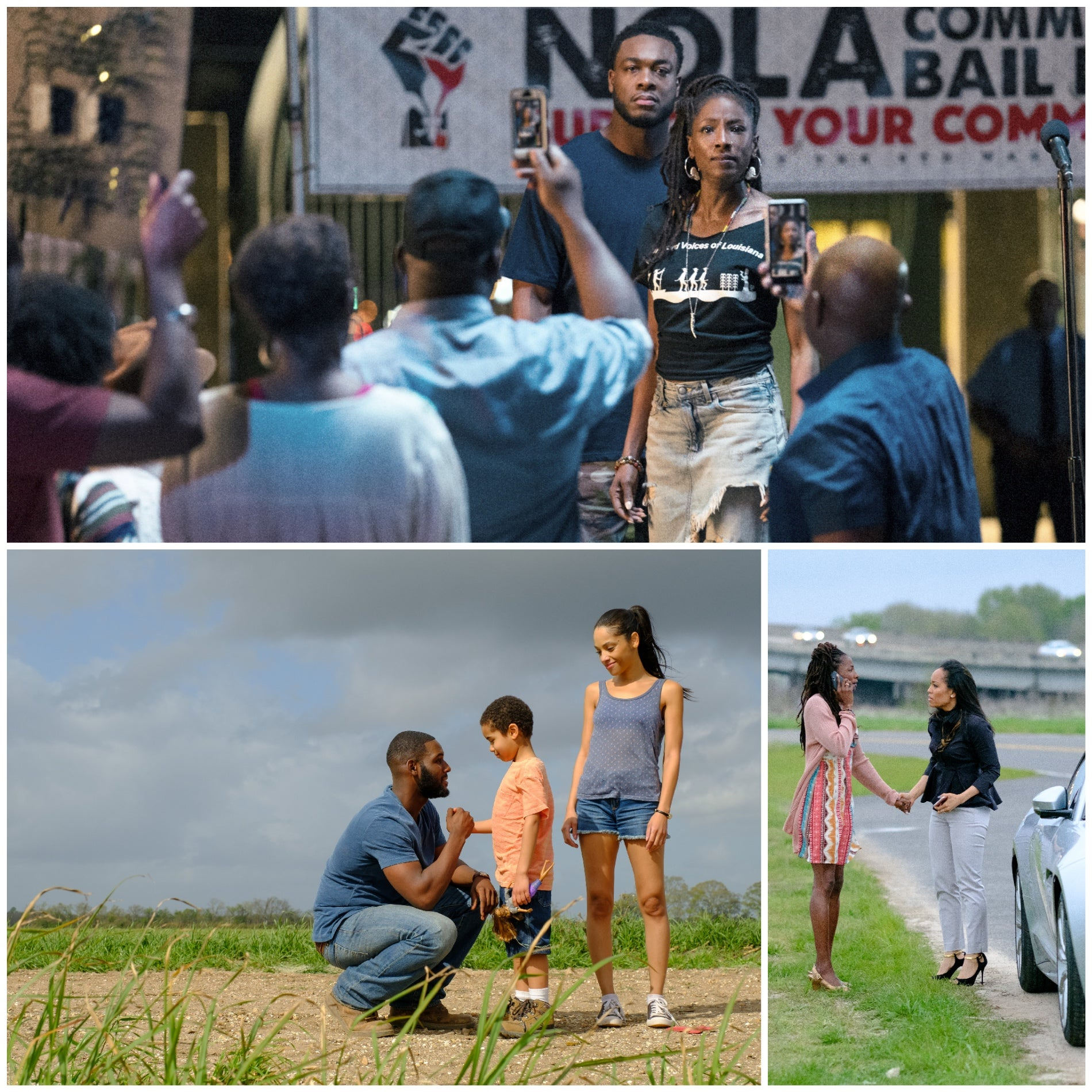 "Scenes from season 2 of the TV series ""Queen Sugar"""