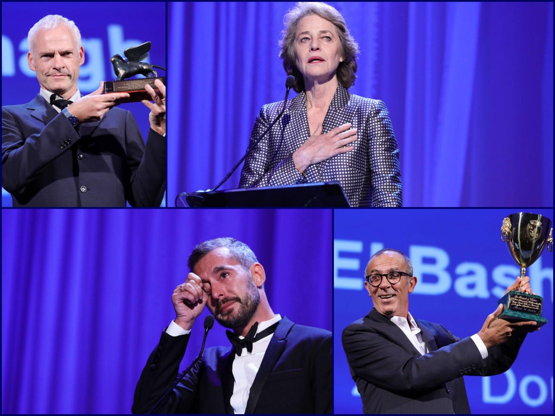Winners of the 2017 Venice Film Festival