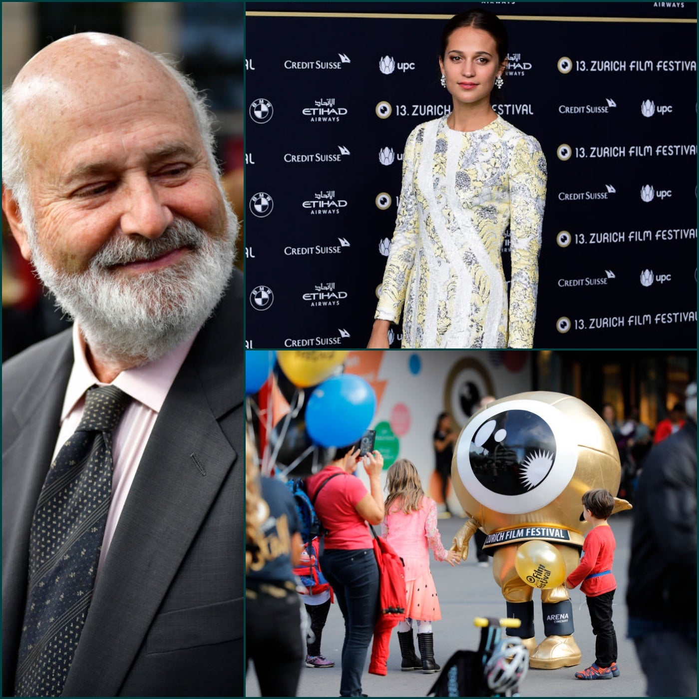 Scenes from the 2017 Zurich Film Festival: Rob Reiner, Alicia Vikander