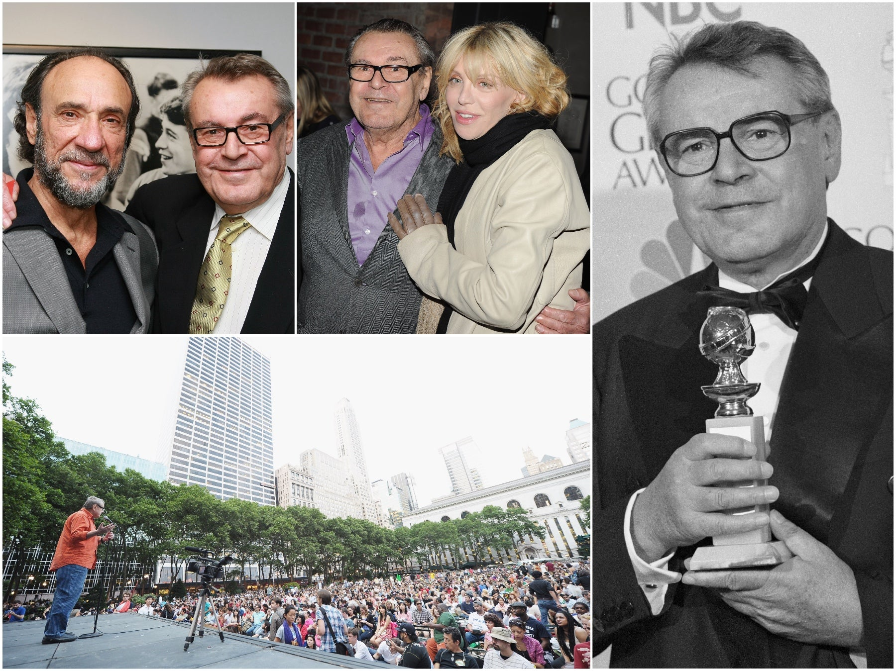 "Milos Forman, ""Larry Flynt"" and later years"