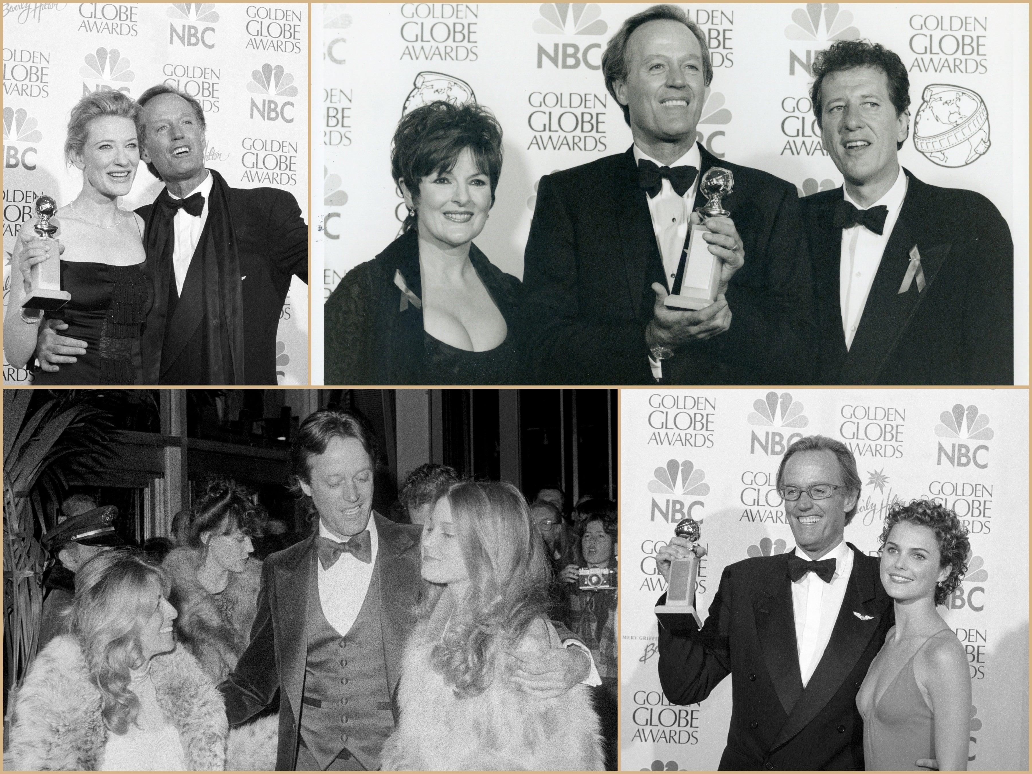 Peter Fonda at the Golden Globes