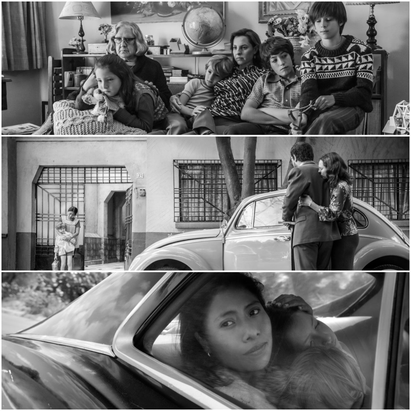"""Scenes from """"Roma"""""""