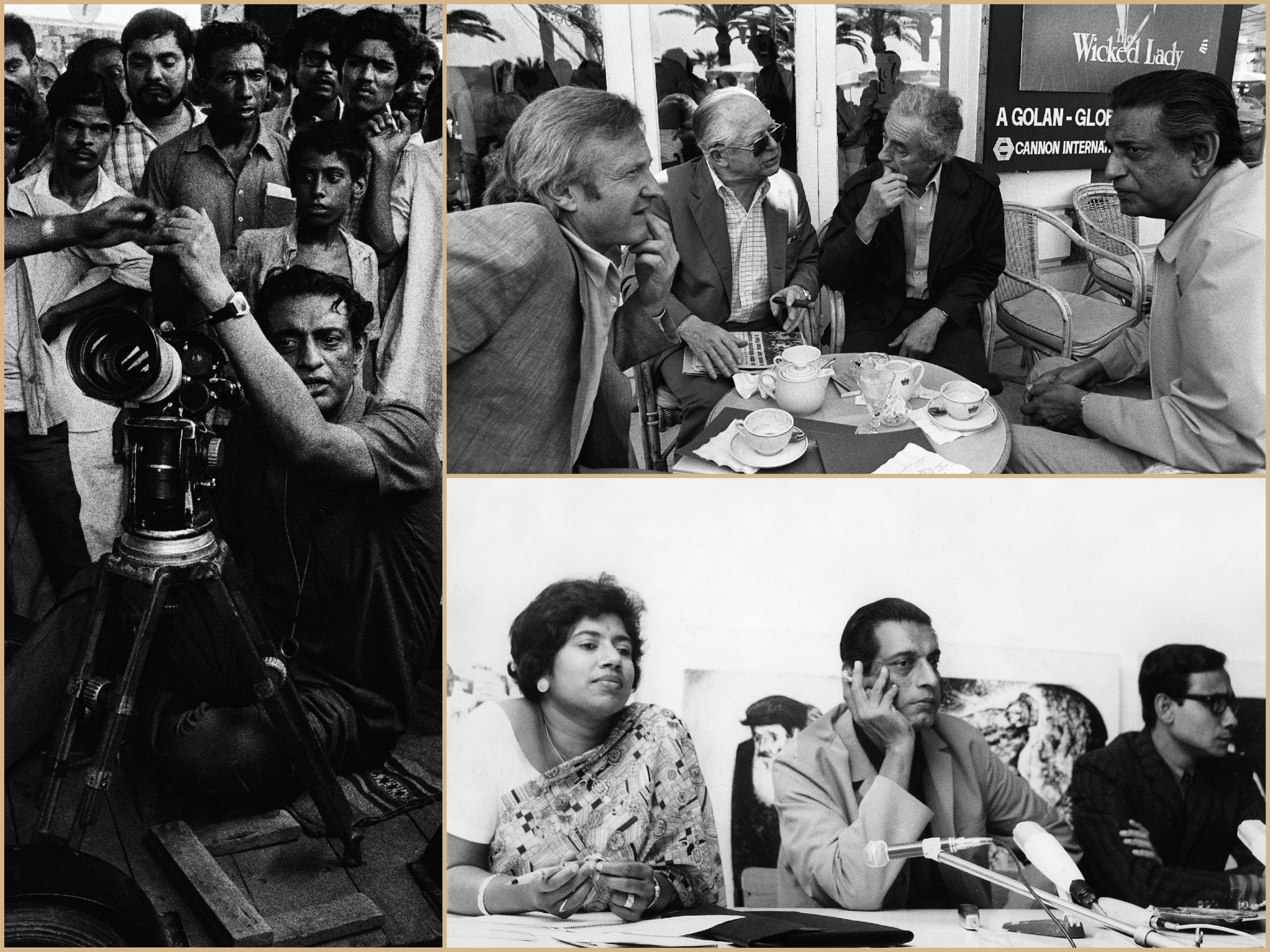 Moments in the life of Satyajit Ray