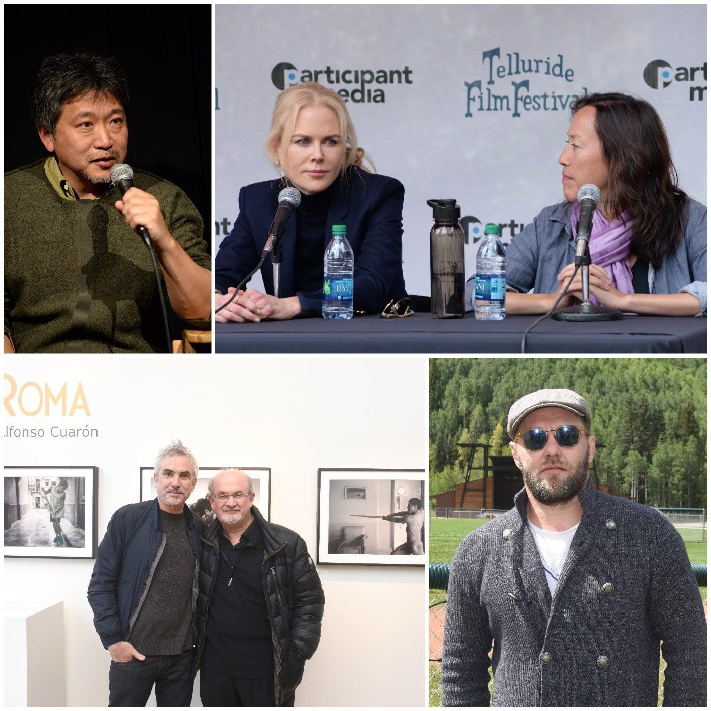 Talent at the 2018 Telluiride Film Festival