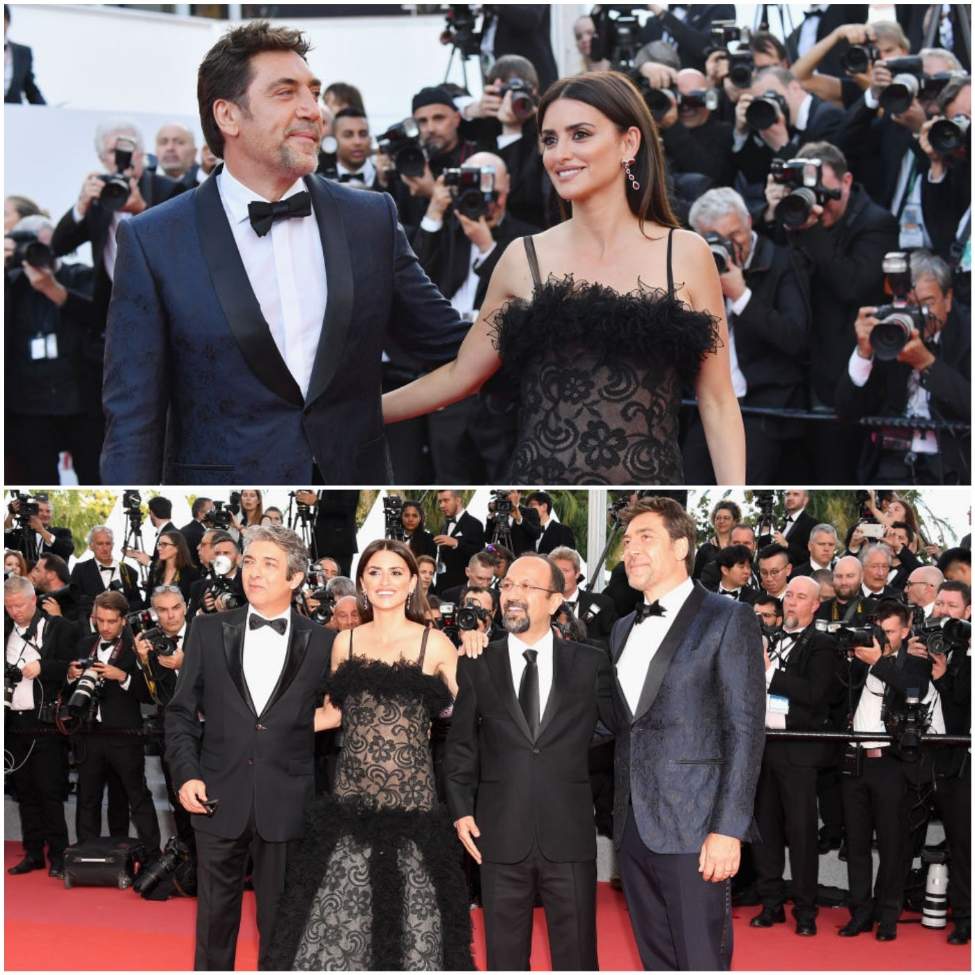 Cast of Everybody Knows in Cannes 2018